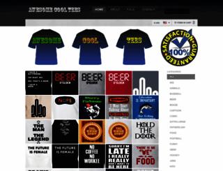 awesomecooltees.com screenshot