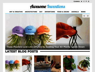 awesomeinventions.com screenshot