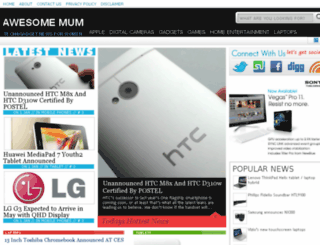 awesomemum.com screenshot