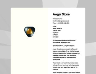 awgarstone.co.uk screenshot
