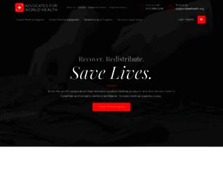 awhealth.org screenshot