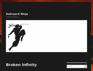 awkwardninja.com screenshot
