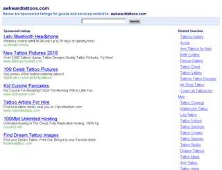 awkwardtattoos.com screenshot