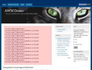 awmdemo.com screenshot