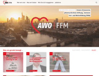 awo-frankfurt.com screenshot
