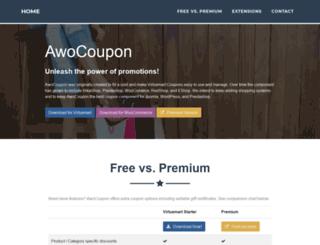 awocoupon.com screenshot