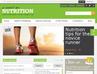 awordonnutrition.com screenshot