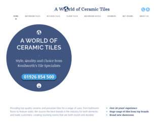 aworldofceramictiles.co.uk screenshot