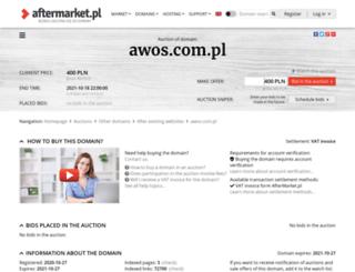 awos.com.pl screenshot