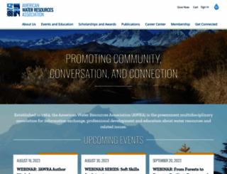awra.org screenshot