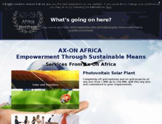 ax-onafrica.dudaone.com screenshot