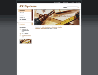 ax1systems.webnode.com screenshot