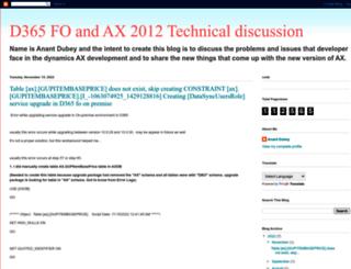 ax2012anant.blogspot.com screenshot