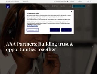 axa-assistance.com screenshot