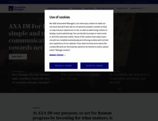 axa-im.com screenshot