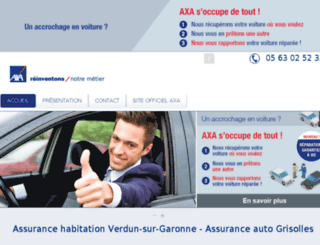 axa-masseil.com screenshot