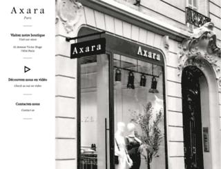 axara.com screenshot