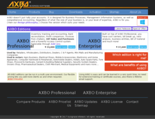axbo.co.in screenshot