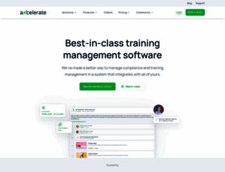 axcelerate.com.au screenshot