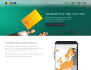 axcessms.com screenshot