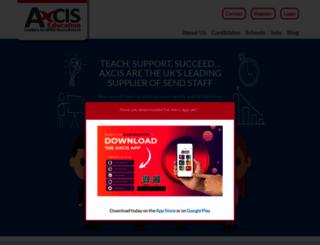 axcis.co.uk screenshot