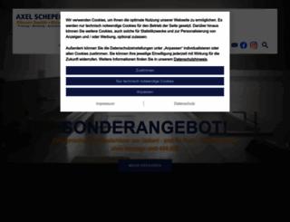 axel-schepers.de screenshot