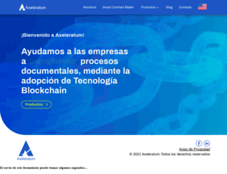 axeleratum.com screenshot