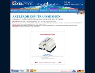 axelprod.net screenshot