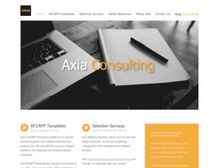 axia-directory.org screenshot