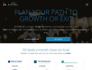 axialmarket.com screenshot