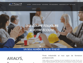 axialysporte.com screenshot