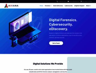 axiana.com screenshot