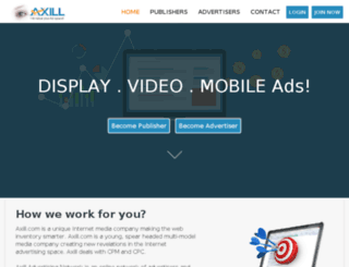 axill.com screenshot