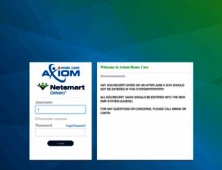 axiom.devero.com screenshot