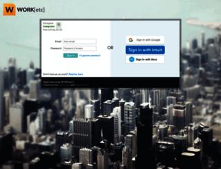 axis.worketc.com screenshot