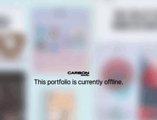 axisart.carbonmade.com screenshot