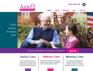 axishomecare.com screenshot