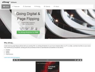 axmag.com screenshot