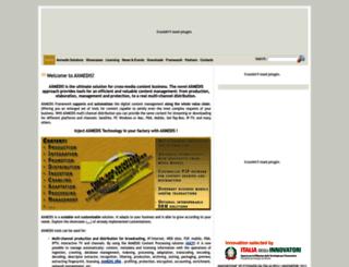 axmedis.org screenshot