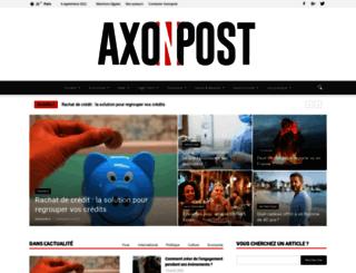 axonpost.com screenshot