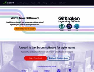 axosoft.com screenshot