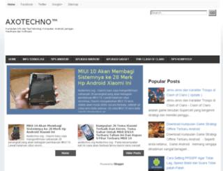 axotechno.blogspot.com screenshot