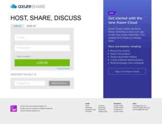 axshare.tandemseven.com screenshot
