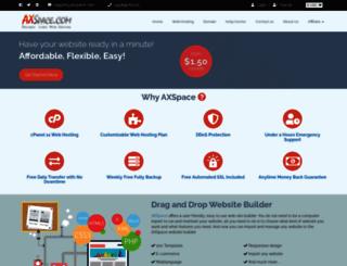 axspace.co.uk screenshot
