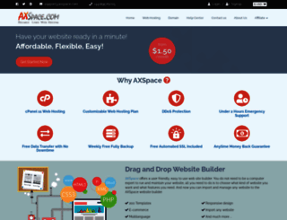 axspace.com screenshot