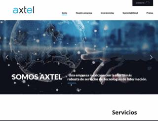 axtel.com.mx screenshot