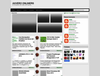 axvero.blogspot.com screenshot