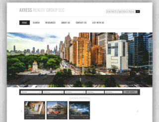 axxess.realtymx.com screenshot