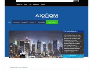 axxiomtrading.com screenshot