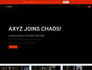 axyz-design.com screenshot